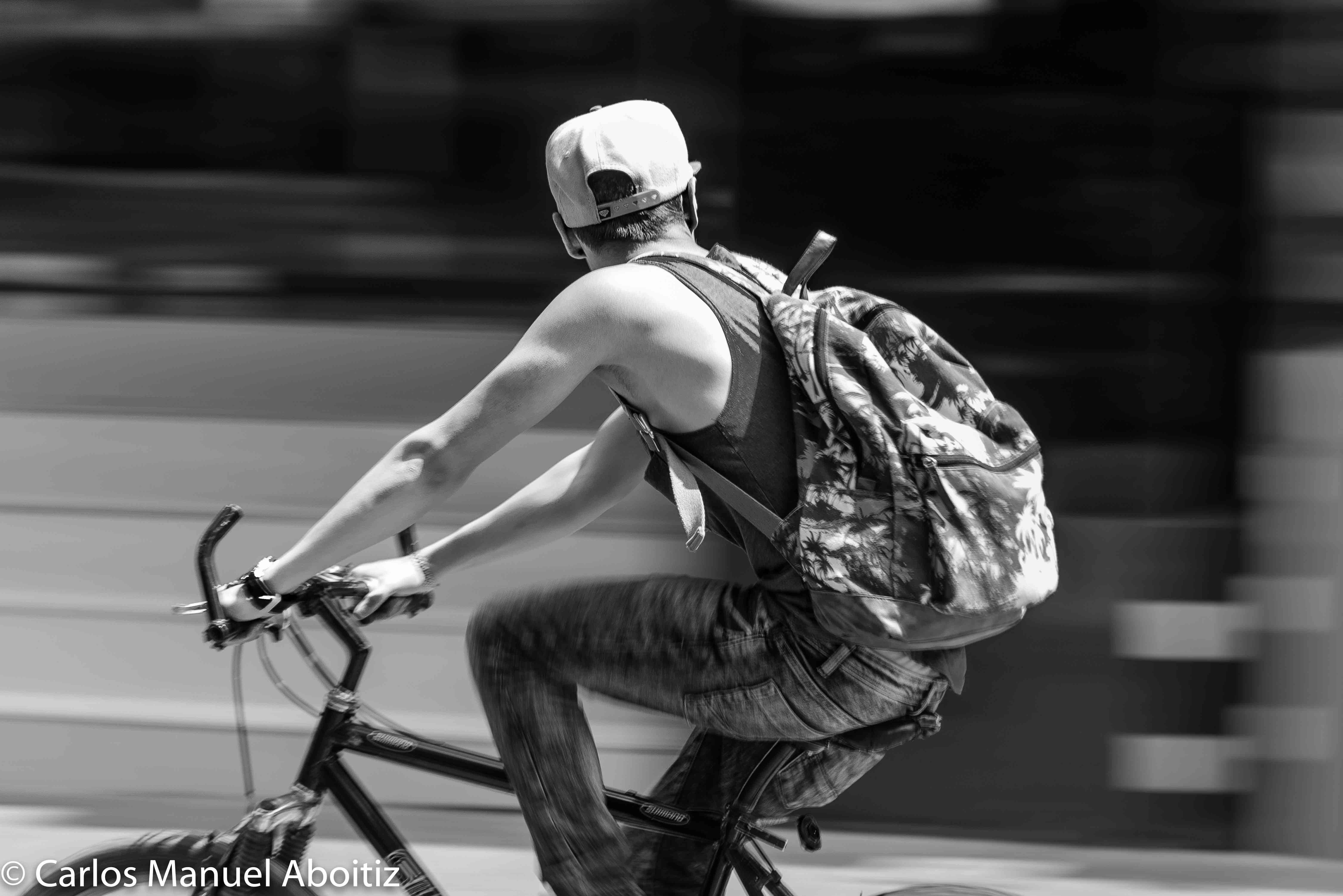 Bicicleta en Reforma